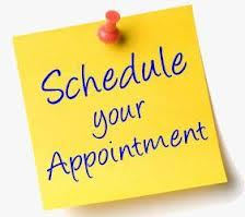 Make an appointment post it note